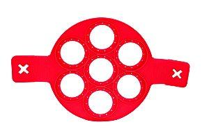 Forma de Silicone 24 cm para 07 und.