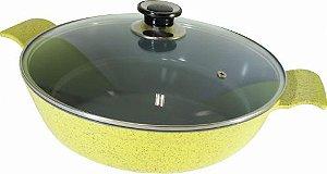 Frigideira Amarela Cerâmica 30 cm