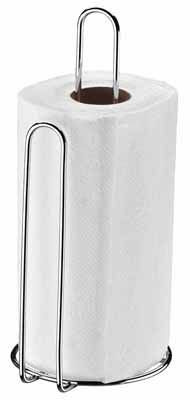 Porta Papel Toalha Vertical Aço Cromado