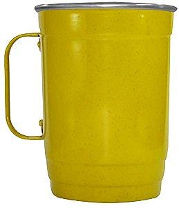 Caneca 110-D 1000ml Amarela Mesclada