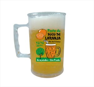 Caneca New 420ml Transparente