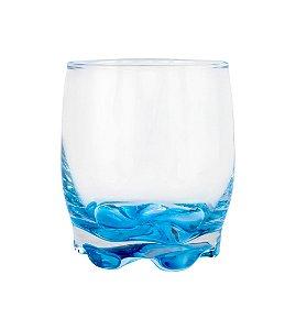 Copo para Whisky 290ml Azul