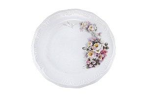 Prato de porcelana Sobremesa 19 cm Dec.E351 Sch.114 -