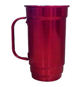 Caneca Alumínio 103-S 500ml Vermelho Verniz