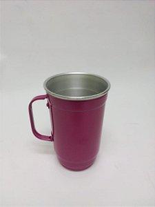 Caneca Alumínio 101-D 500ml Rosa HRB