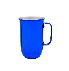 Caneca Alumínio Imperial 900 ml Azul Verniz