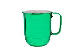 Caneca Al. República 650 ml Verde Verniz
