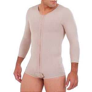 Modelador Masculino com Mangas sem Pernas