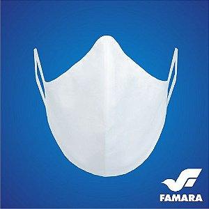 Máscara Impermeável Reutilizável 100% Algodão KIT