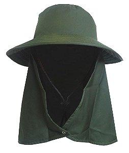 Chapéu Legionário com Proteção Solar - FPU 50+