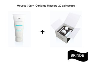 Conjunto Máscara + Mousse de Limpeza + Brinde