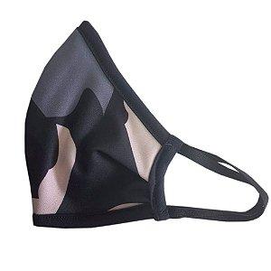 Máscara de Tecido Ninja Reutilizável - Camuflada
