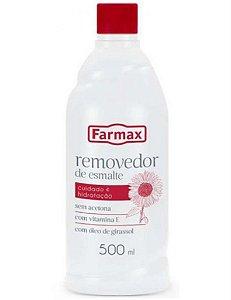 Removedor Sem Acetona Farmax 500 Ml