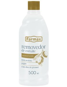 Removedor Sem Acetona Farmax Argan 500ml