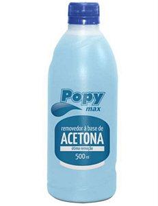 Removedor de Acetona Popy Max 500ml