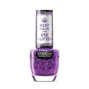 Esmalte Studio 35 Keep Calm And Use Glitter #ComoEuQuero