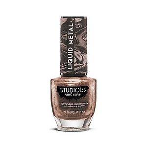 Esmalte Studio 35 Liquid Metal #ourochampagne