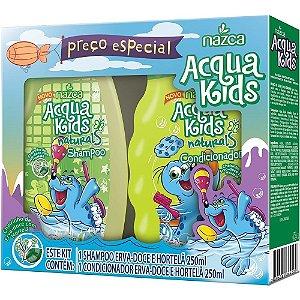 Aqua Kids Kit Sh+Co 250ml Erva Doce