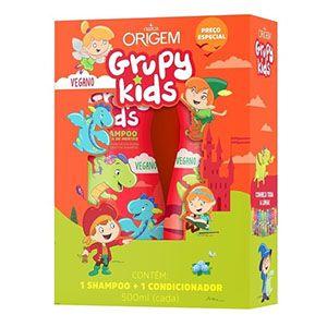 Grupy Kids Kit SH + Cond 500ml Hidrata de Montão