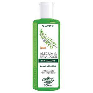 Shampoo Flores e Vegetais Alecrim e Erva Doce 310ml