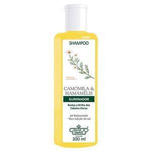 Shampoo Flores e Vegetais Camomila e Hamamelis 310ml