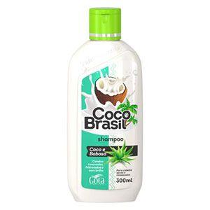 Shampoo Gota Dourada Coco Brasil Babosa 300ml