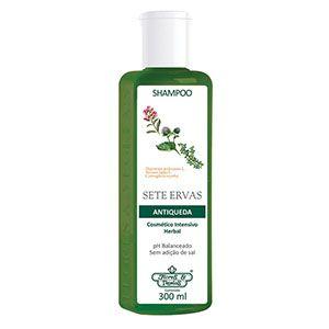 Shampoo Flores e Vegetais Antiqueda Sete Ervas 310ml