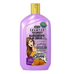 Shampoo Gota Dourada Fortalecimento Escova 430ml