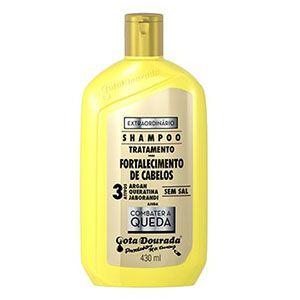 Shampoo Gota Dourada Fortalecimento Extraordinario 430ml
