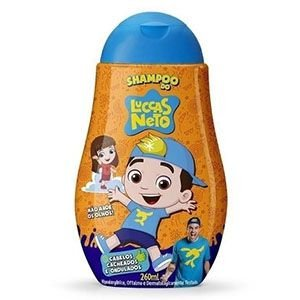 Shampoo Luccas Neto Cabelos Cacheados e Ondulados 260ml