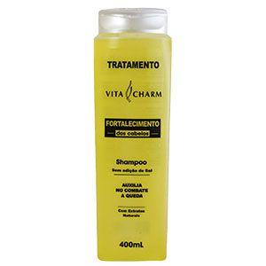 Shampoo Vitacharm Tratamento Fortalecimento 400ml