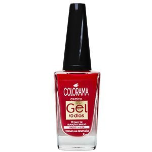 Esmalte Colorama Gel Vermelha Obsessao 8ml