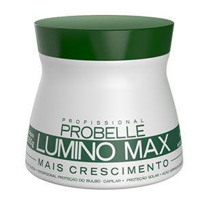 Mascara Probelle Lumino Max Mais Crescimento 250g