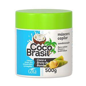Mascara Gota Dourada Coco Broto Bambu 500g