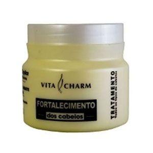 Mascara Hidratante Tratamento Fortalecimento Vitacharm 500g