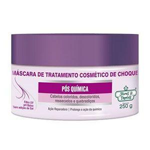 Mascara Flores e Vegetais Tratamento de Choque Pós Quimica 250g