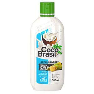 Condicionador Gota Dourada Coco Brasil Broto de Bambu 300ml