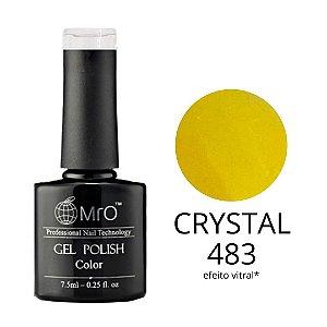 Esmalte em Gel UV/LED Cor 483 Crystal Marca MRO 7,5ml