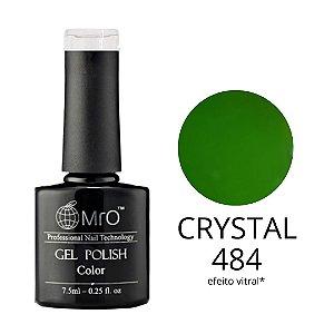 Esmalte em Gel UV/LED Cor 484 Crystal Marca MRO 7,5ml