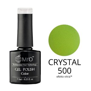 Esmalte em Gel UV/LED Cor 500 Crystal Marca MRO 7,5ml