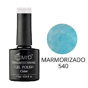 Esmalte em Gel UV/LED Cor 540 Marmorizado Marca MRO 7,5ml