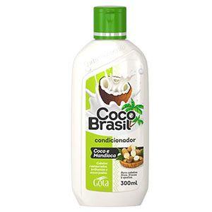 Condiciomador Gota Dourada Coco Brasil Mandioca 300ml