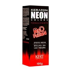 Tonalizante Keraton Neon Colors Red Fusion 100g