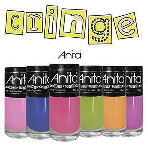 Coleção Esmalte Anita Cringe 6 Cores