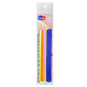 Lixa Unha Larga Colors c/ 6 Unidades