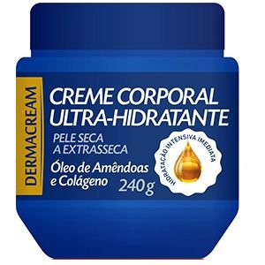 Creme Corporal Ultra Hidratante Amêndoas e Colágeno 240g
