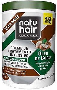 Creme Natuhair Cachos Óleo de Coco 1 Kg