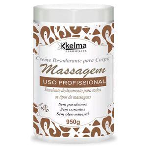 Creme Corpo Massagem Kelma Café 950g