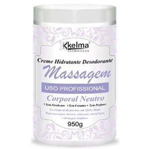 Creme Corpo Massagem Kelma Neutro 950g