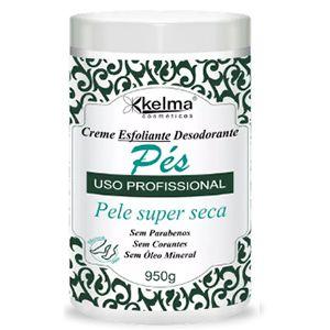 Creme Esfoliante Desodorante Kelma Pés 950g